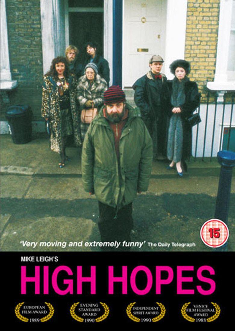 High Hopes (1988 film) movie poster