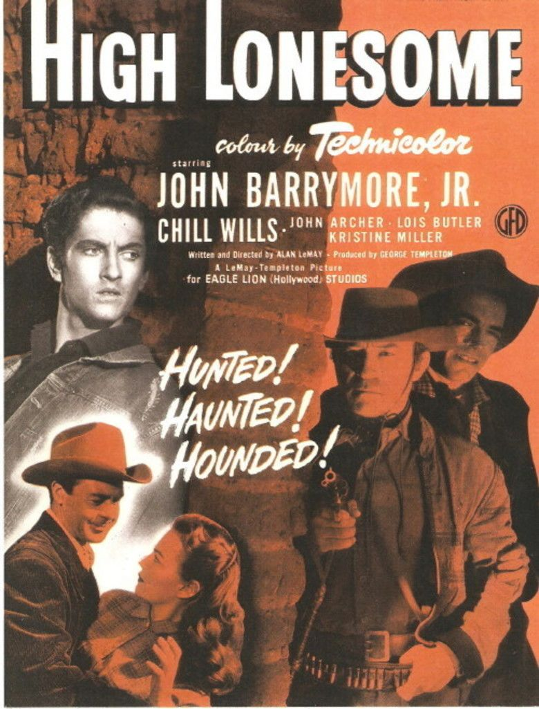 High Lonesome (film) movie poster