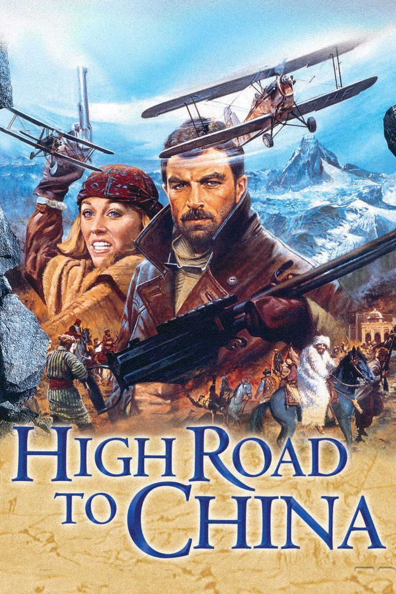 High Road to China movie poster