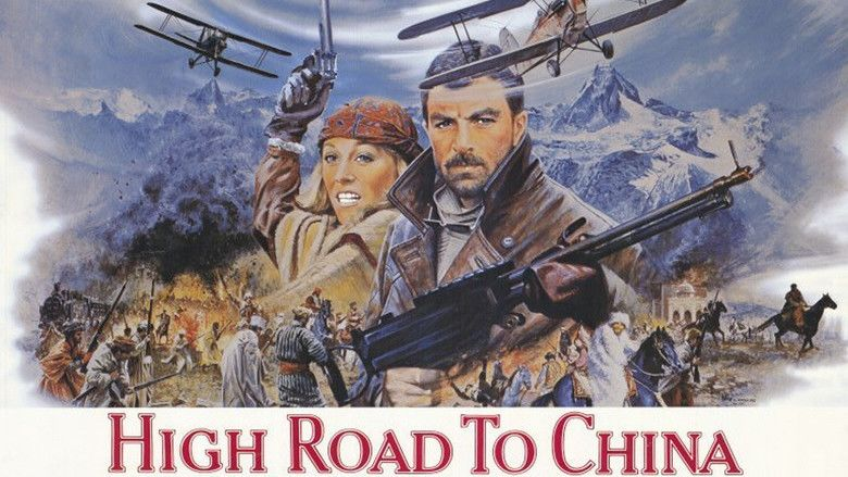 High Road to China movie scenes