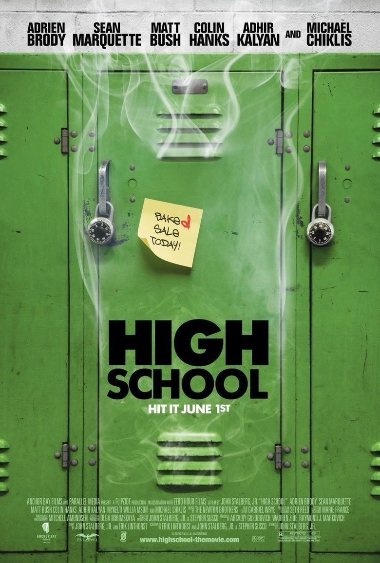High School (2010 film) movie poster