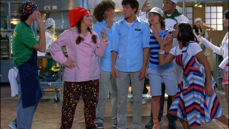 High School Musical 2 movie scenes