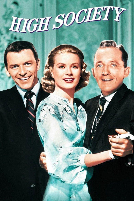 High Society (1956 film) movie poster