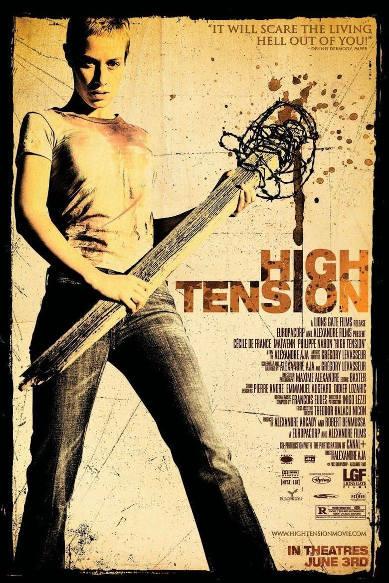 High Tension movie poster