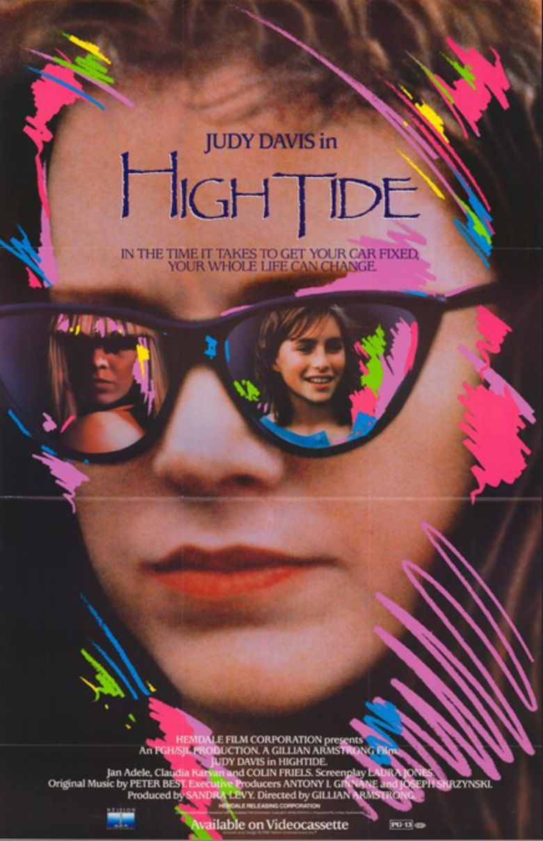 High Tide (1987 film) movie poster