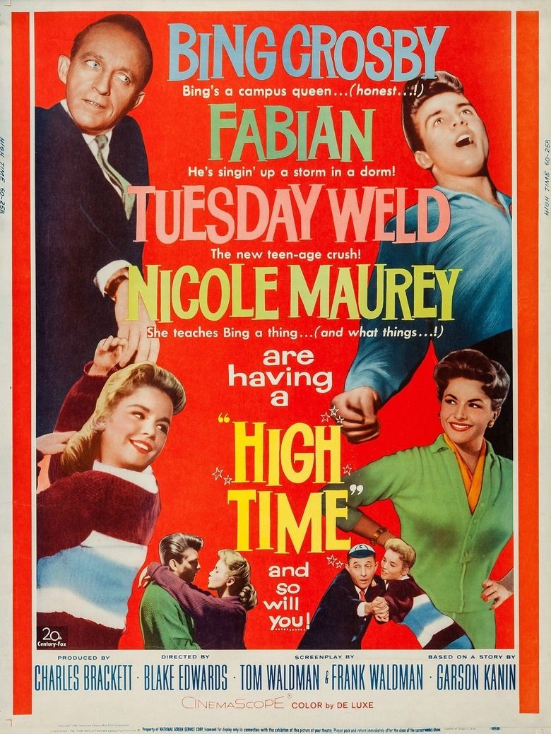 High Time (film) movie poster