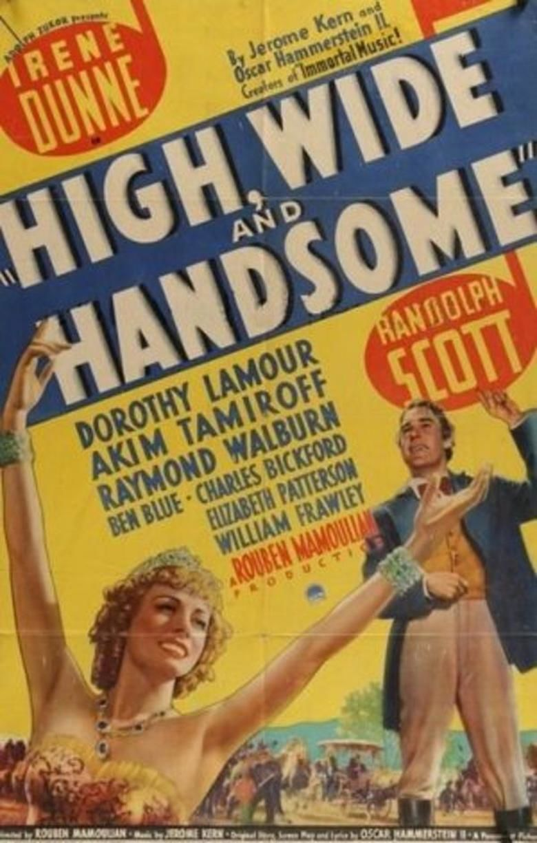 High, Wide, and Handsome movie poster