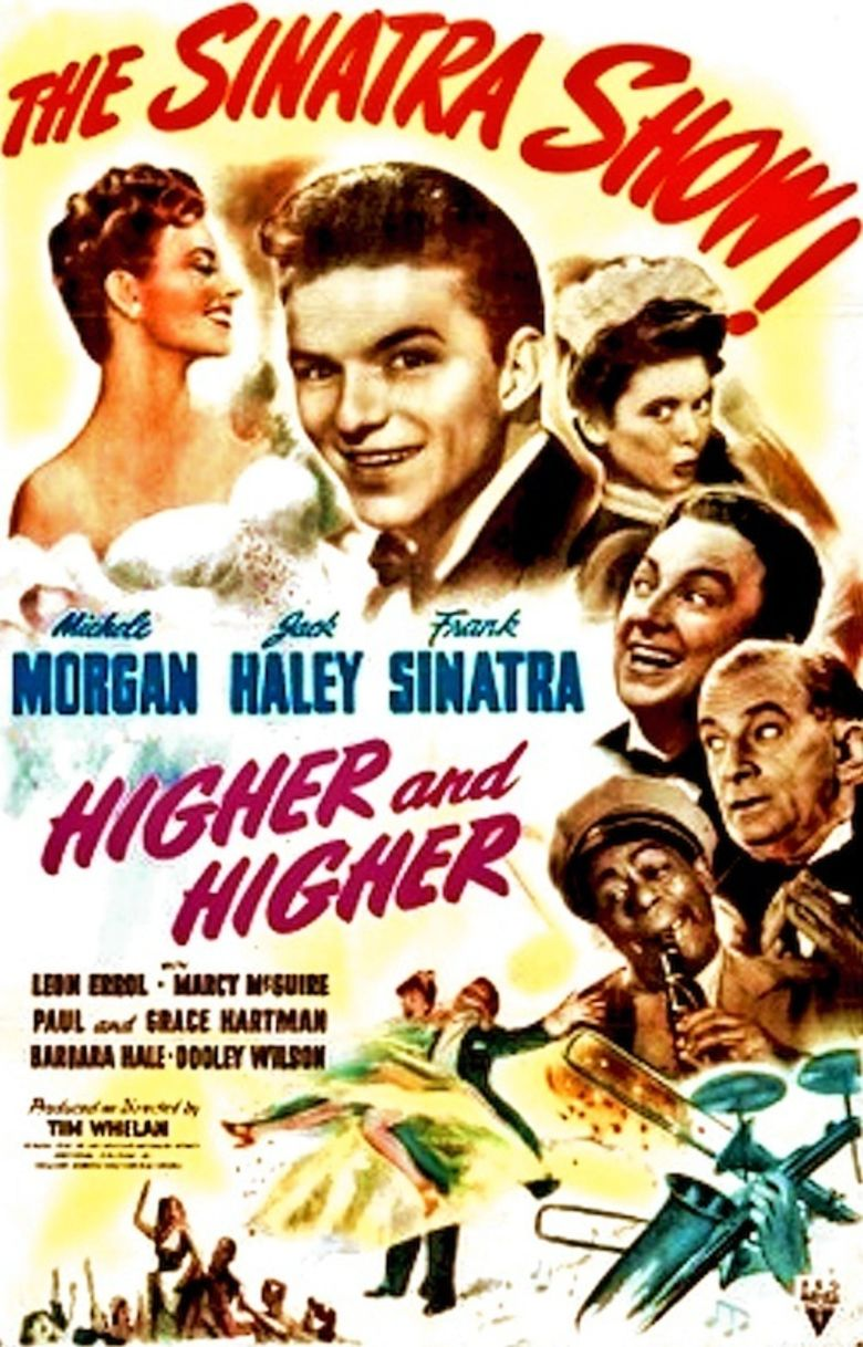 Higher and Higher (film) movie poster