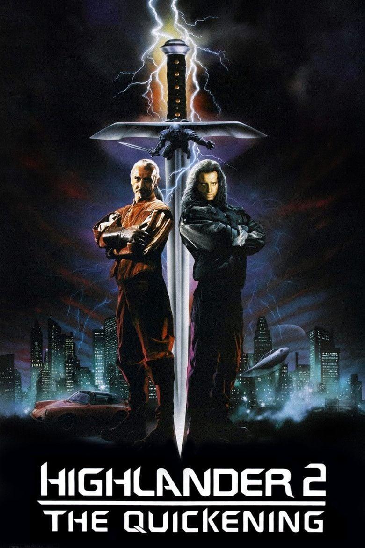 Highlander II: The Quickening movie poster