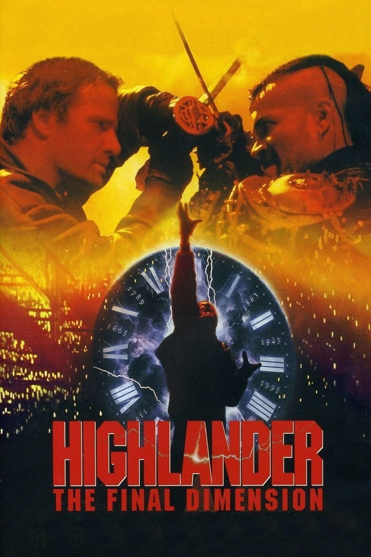 Highlander III: The Sorcerer movie poster