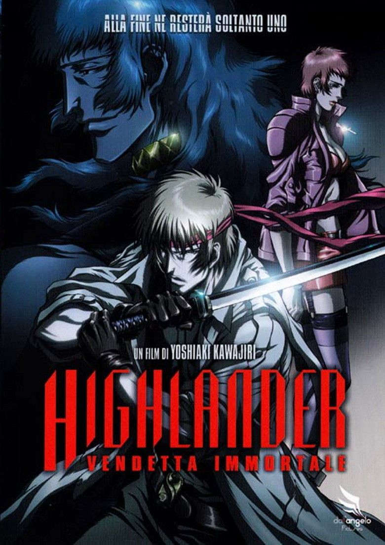 Highlander: The Search for Vengeance movie poster