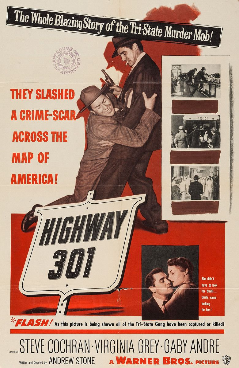 Highway 301 (film) movie poster