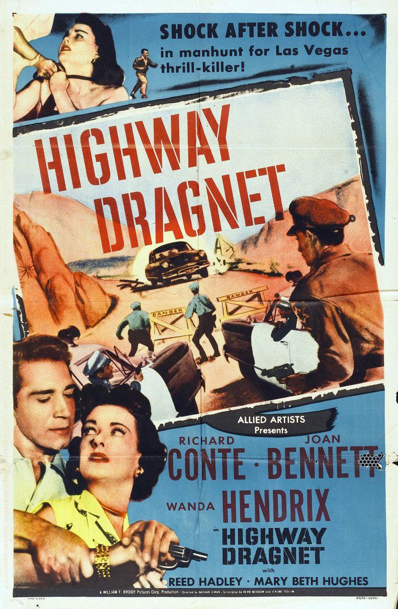 Highway Dragnet movie poster