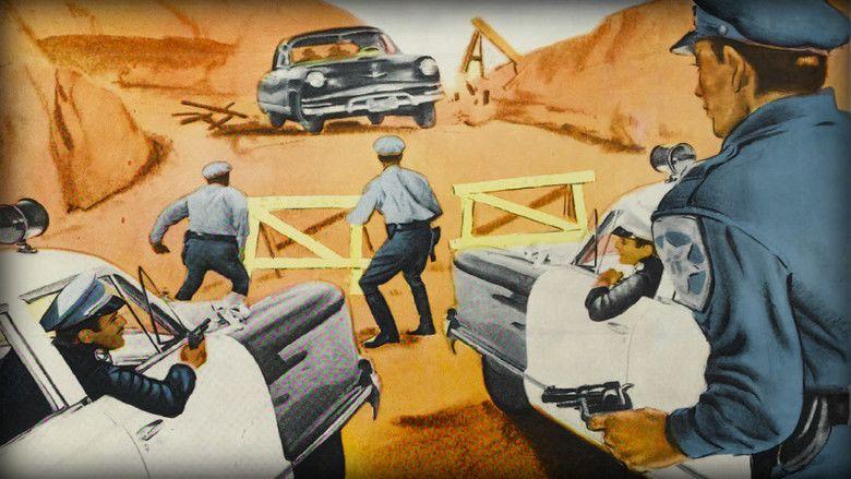 Highway Dragnet movie scenes