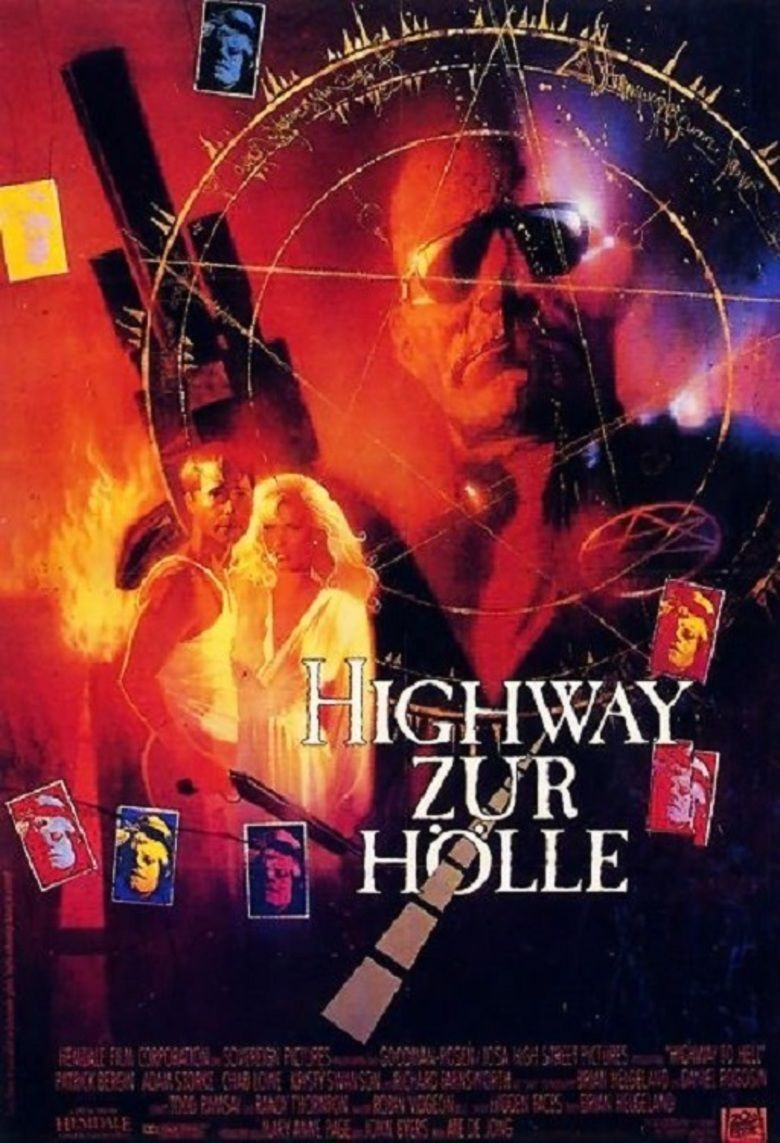 Highway to Hell (film) movie poster