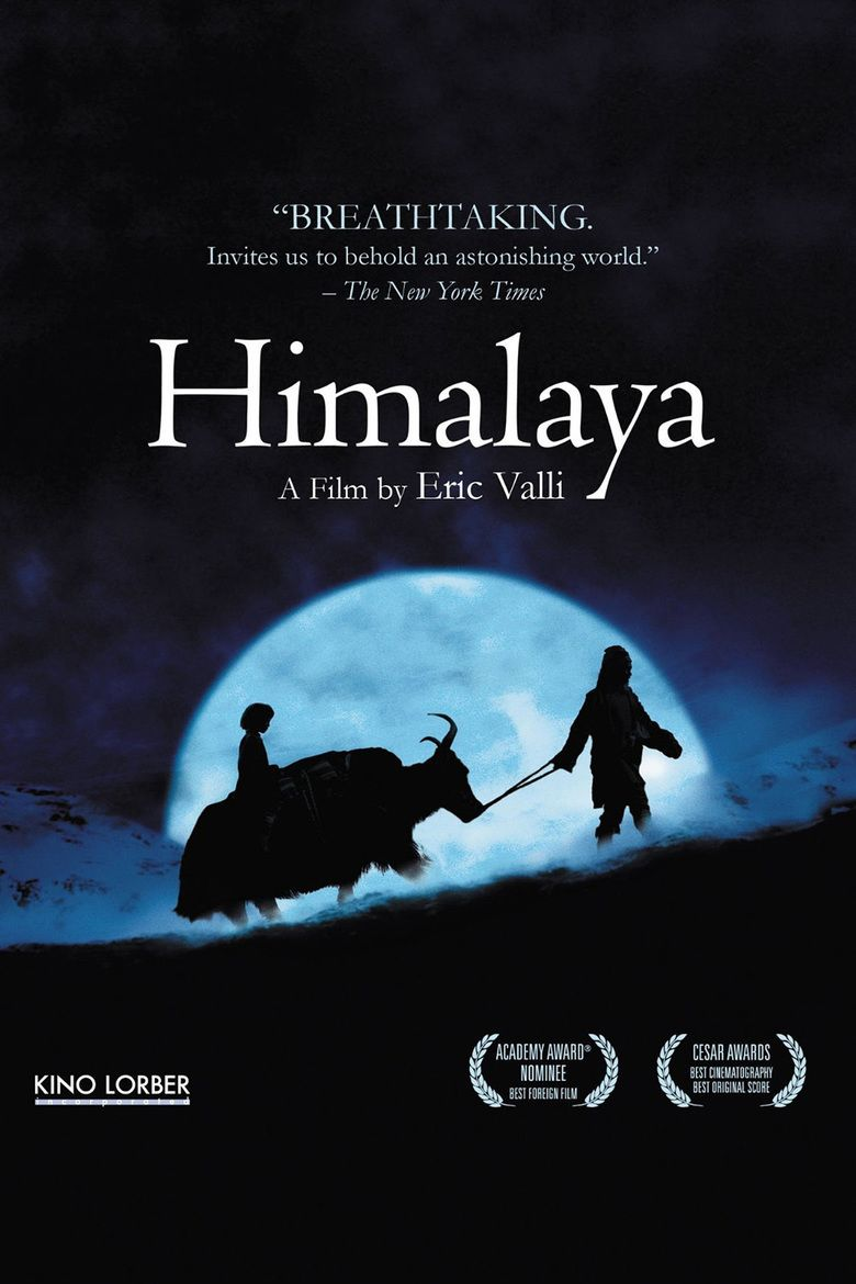 Himalaya (film) movie poster