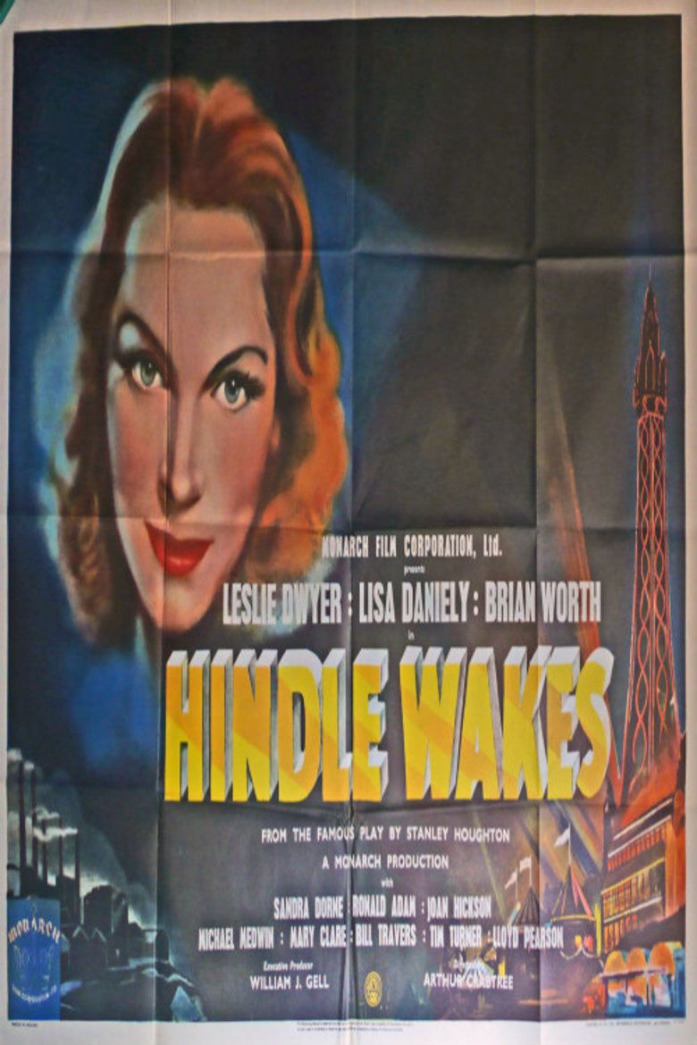 Hindle Wakes (1952 film) movie poster