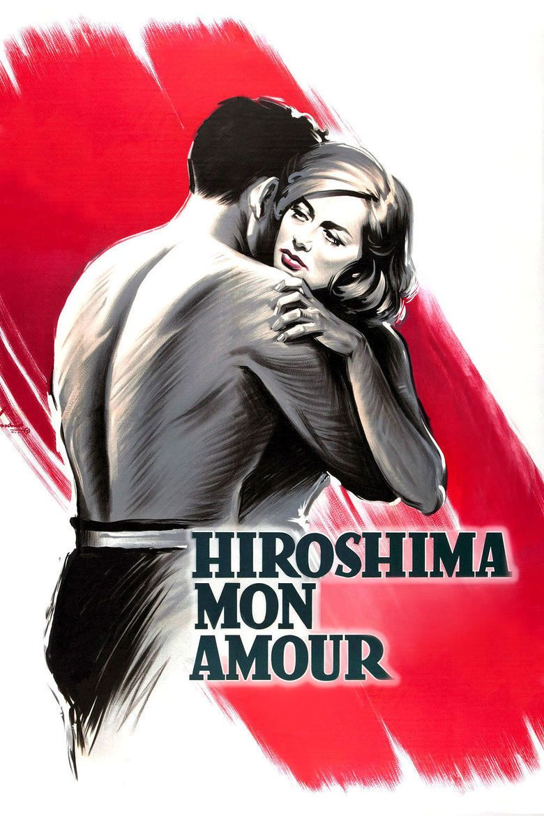 Hiroshima mon amour movie poster