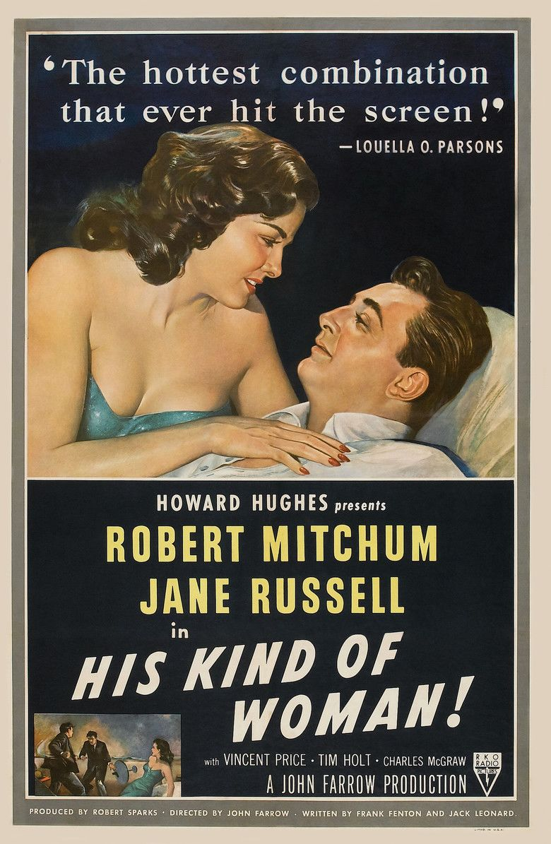His Kind of Woman movie poster