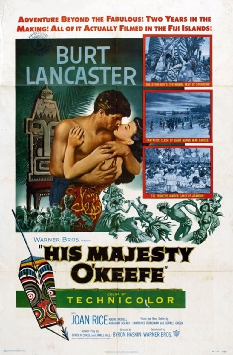 His Majesty OKeefe movie poster
