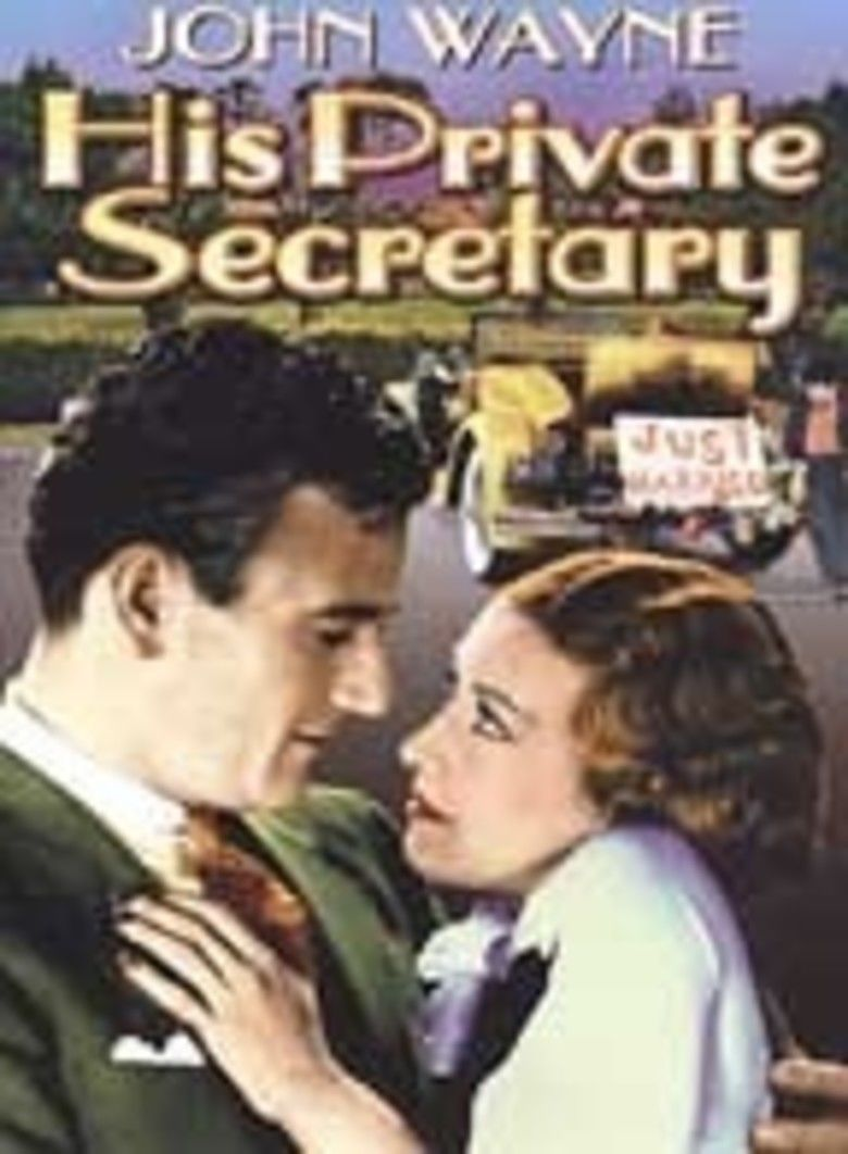 His Private Secretary movie poster