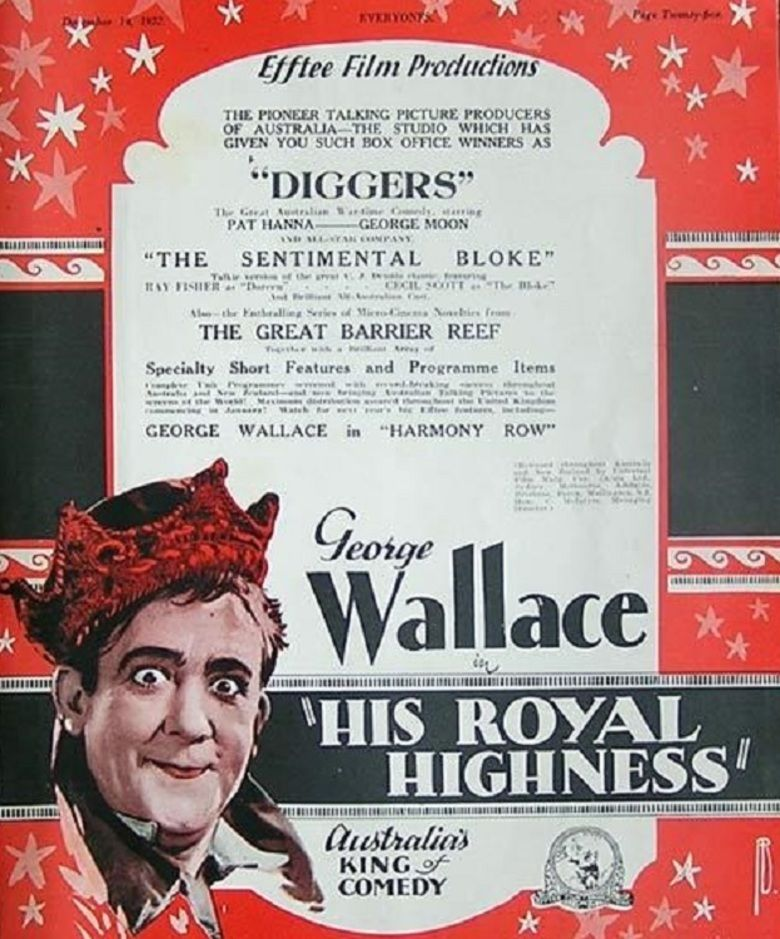 His Royal Highness (film) movie poster