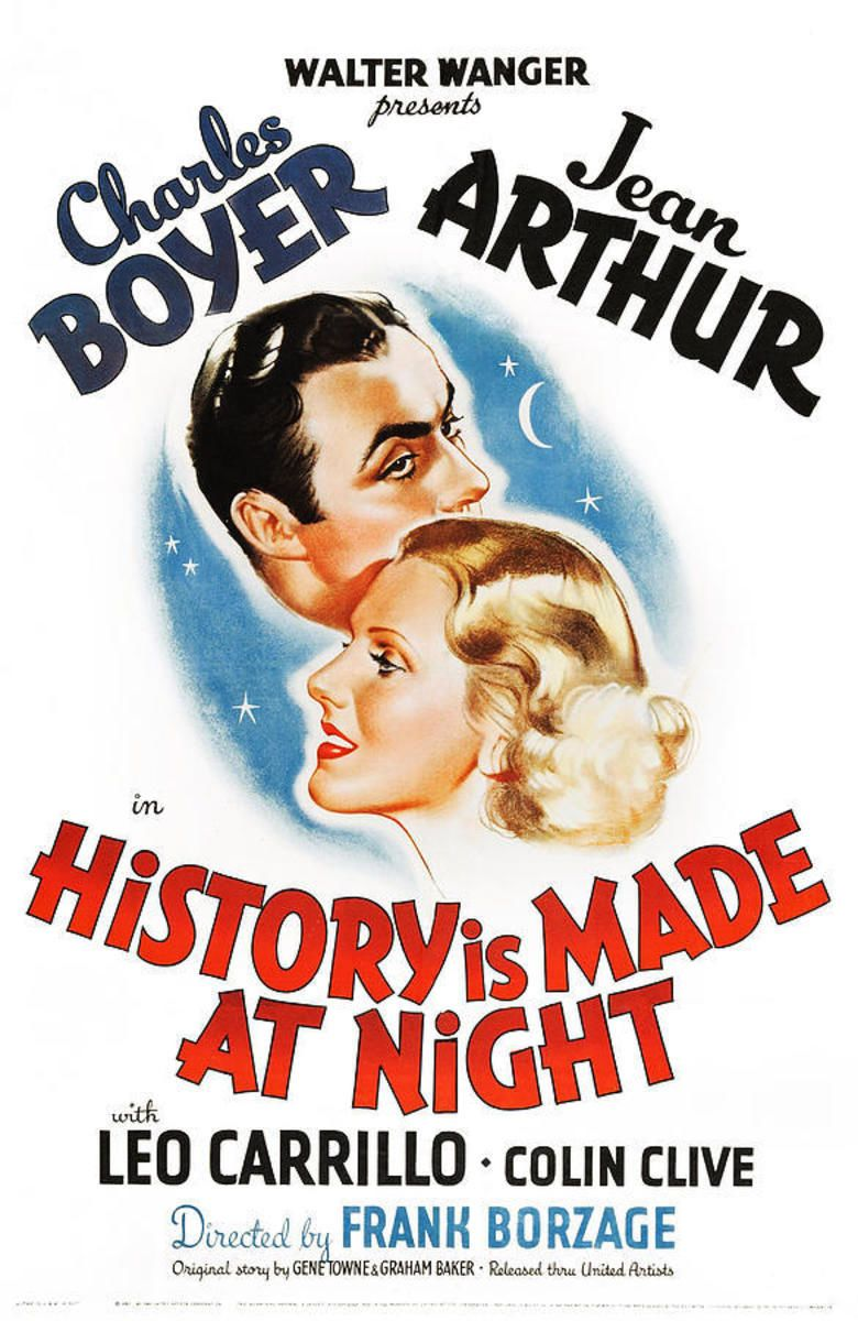History Is Made at Night (1937 film) movie poster