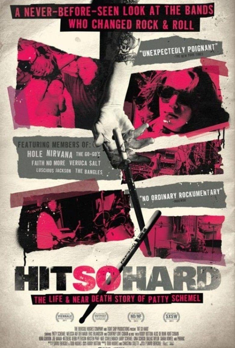 Hit So Hard movie poster