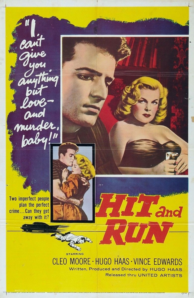 Hit and Run (1957 film) movie poster