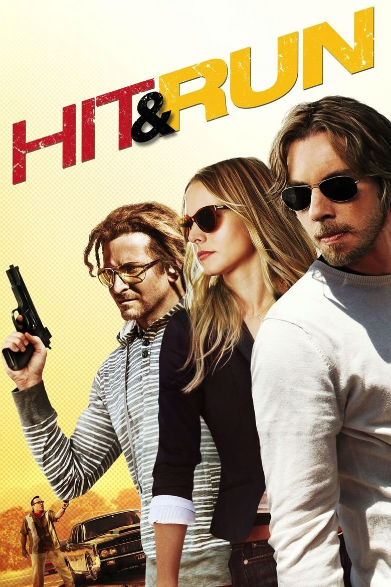 Hit and Run (2012 film) movie poster