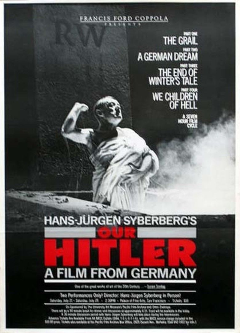 Hitler: A Film from Germany movie poster