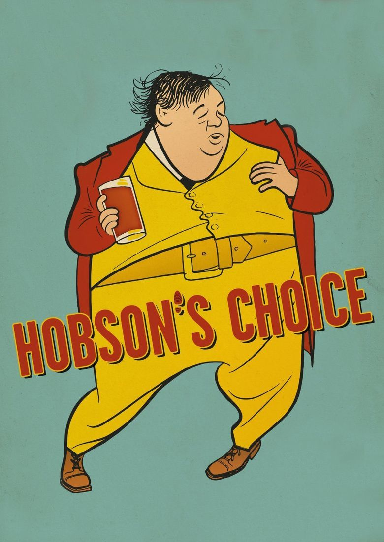 Hobsons Choice (1954 film) movie poster
