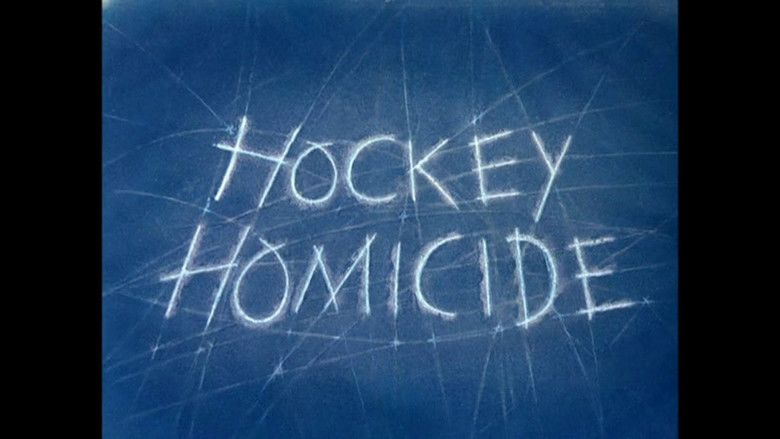 Hockey Homicide movie scenes
