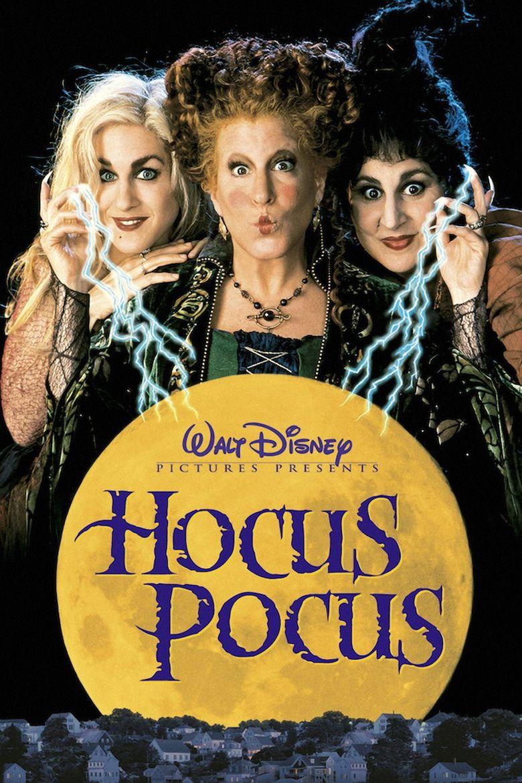 Hocus Pocus (1993 film) movie poster