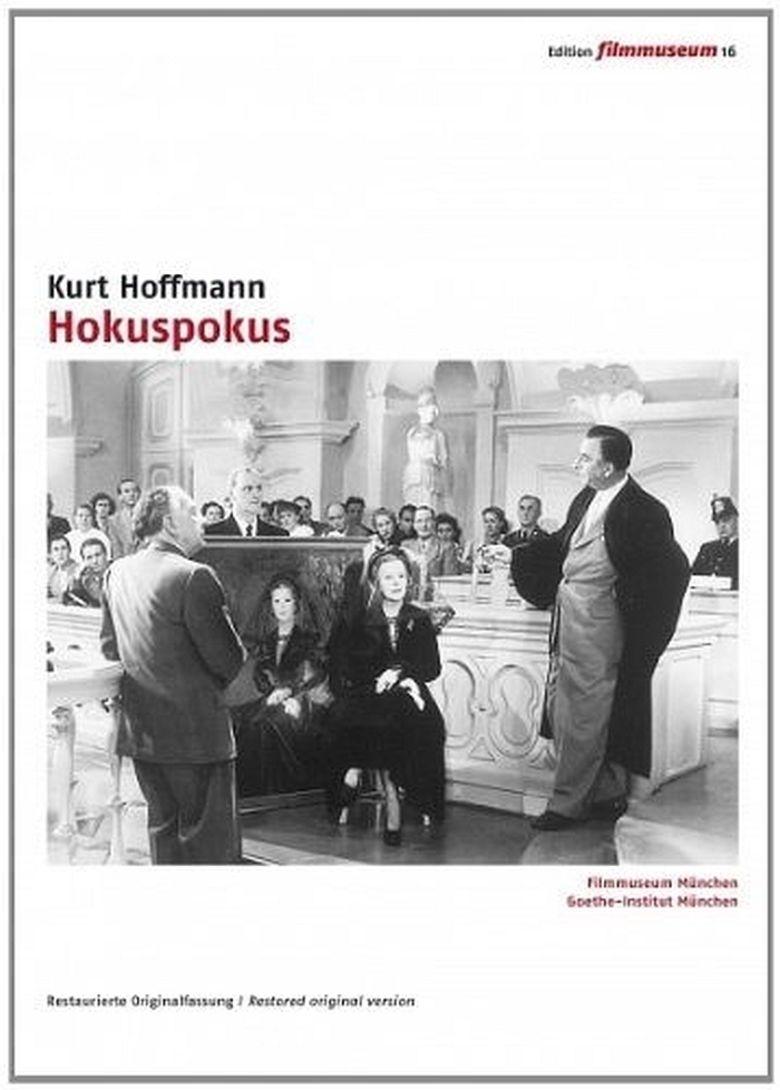 Hocuspocus (1953 film) movie poster