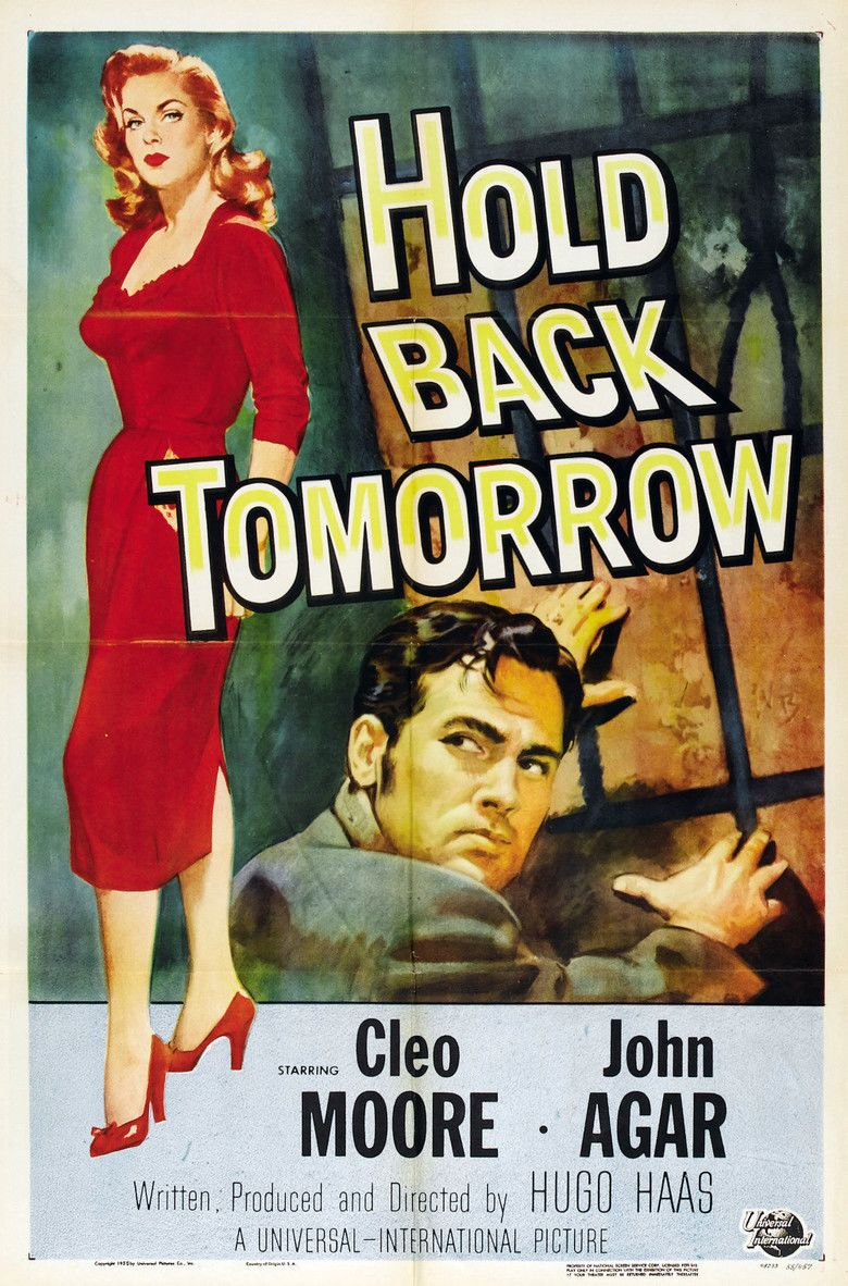 Hold Back Tomorrow movie poster