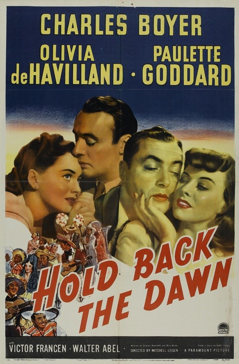 Hold Back the Dawn movie poster