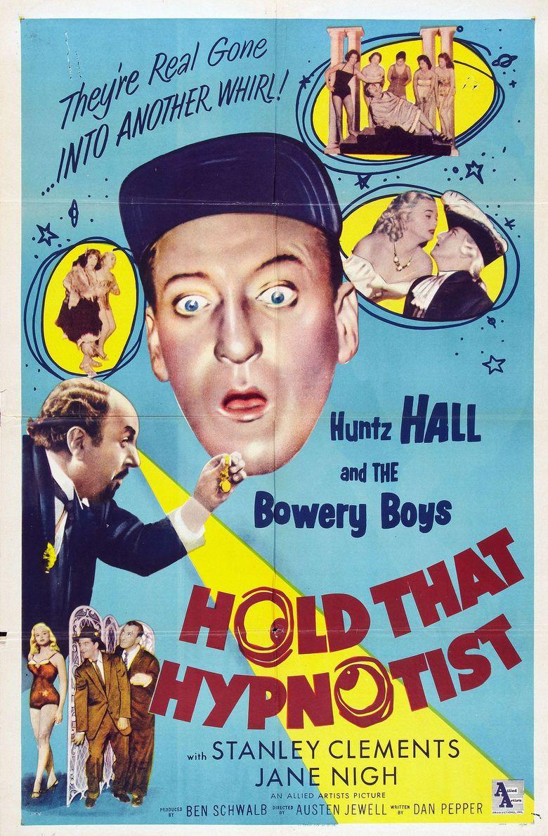 Hold That Hypnotist movie poster