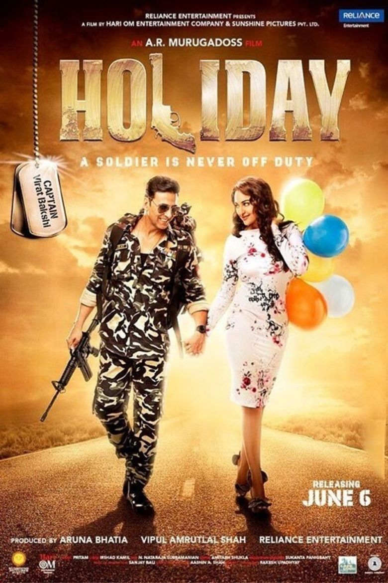 Holiday: A Soldier Is Never Off Duty movie poster