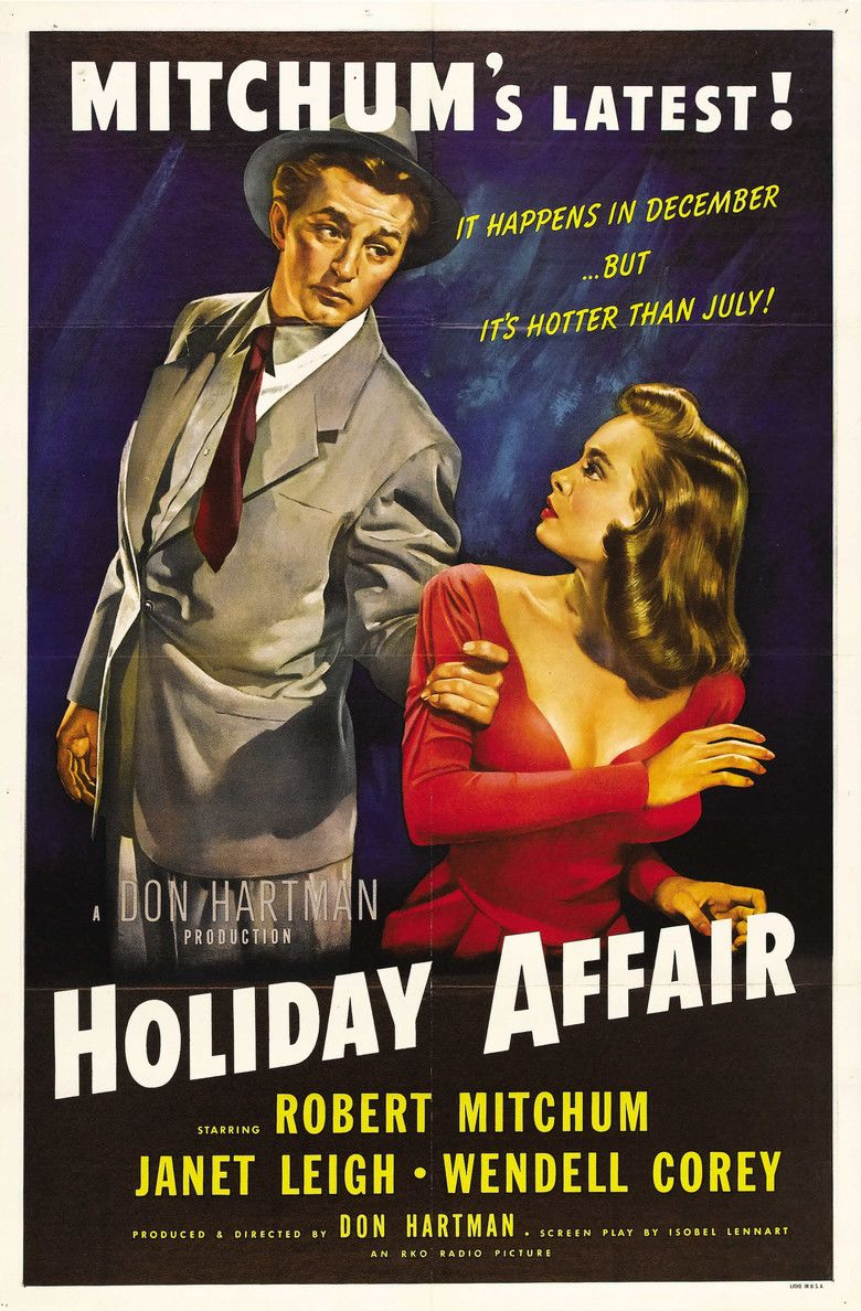 Holiday Affair movie poster