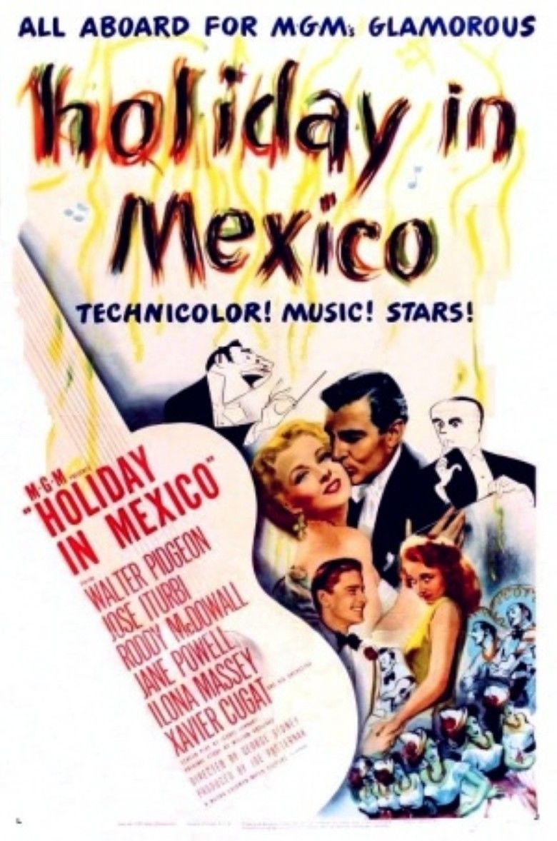 Holiday in Mexico movie poster