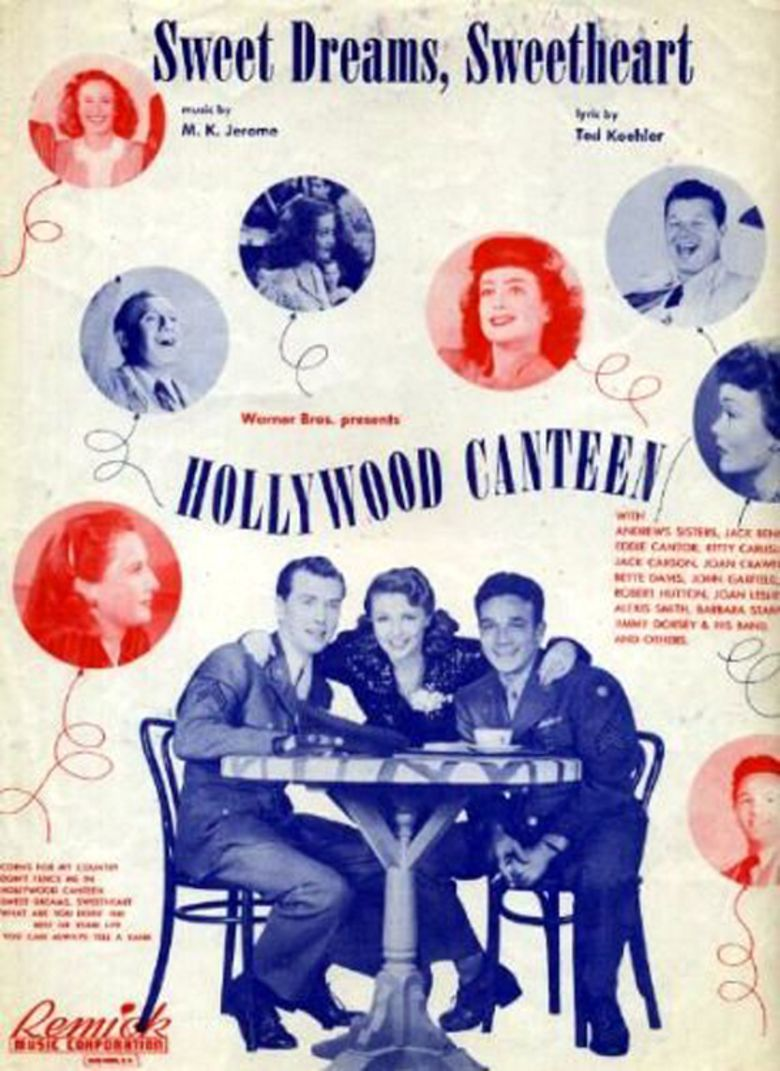 Hollywood Canteen (film) movie poster