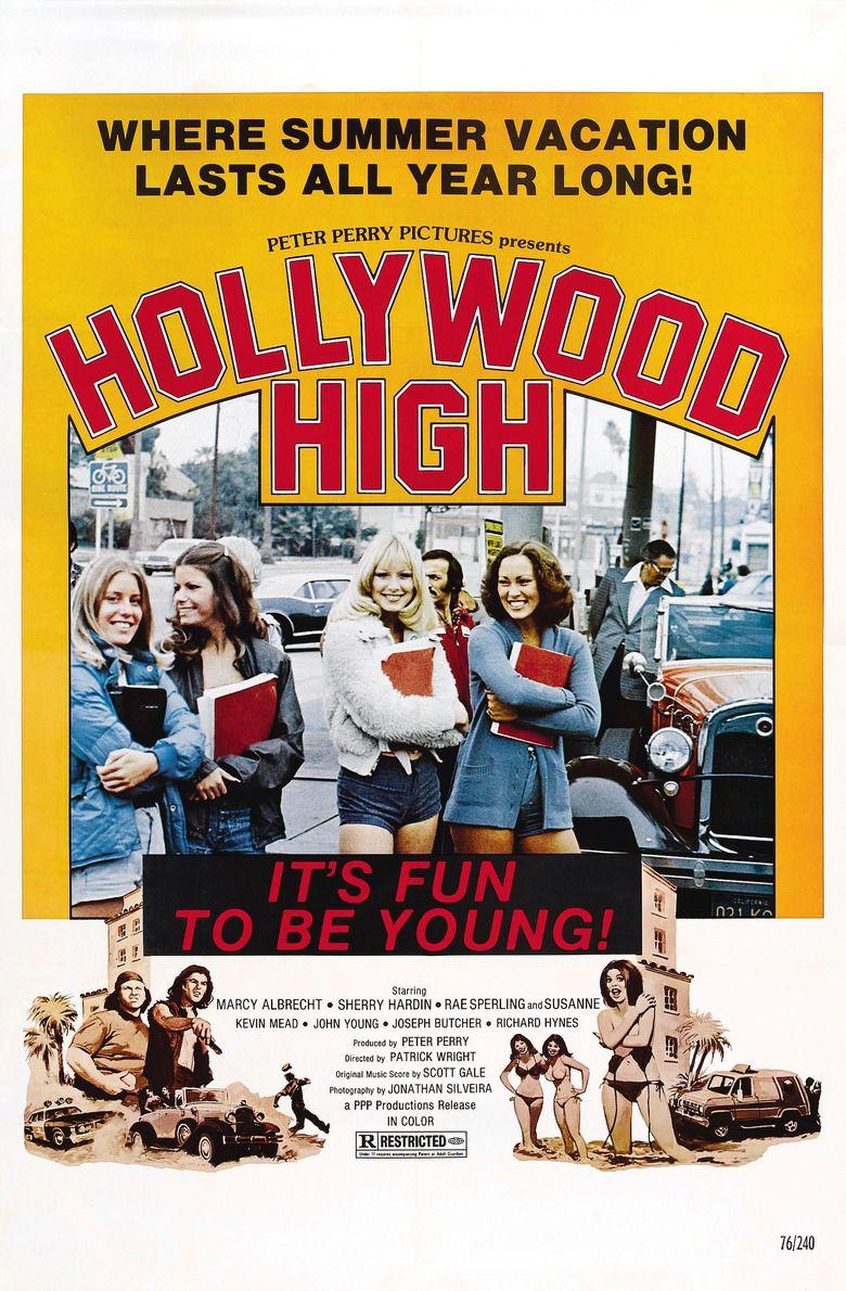 Hollywood High (1977 film) movie poster