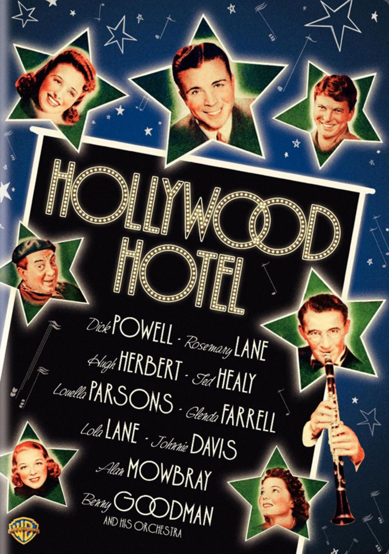 Hollywood Hotel (film) movie poster