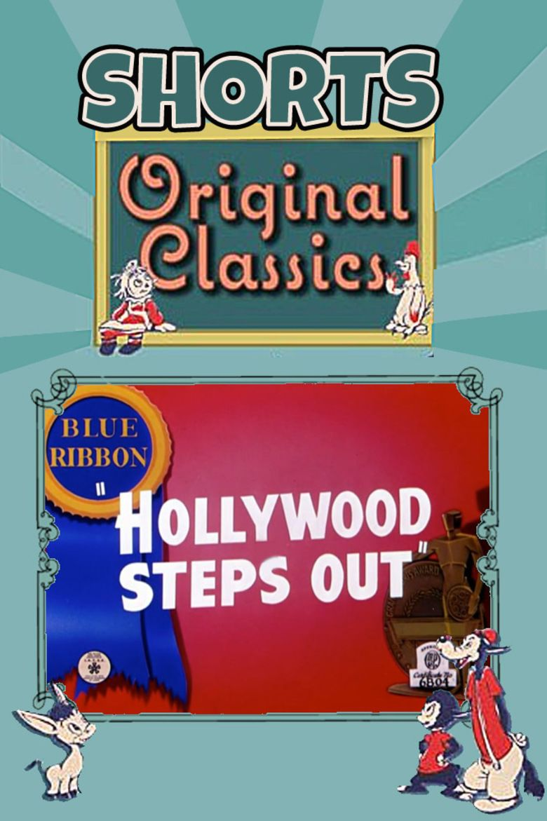 Hollywood Steps Out movie poster