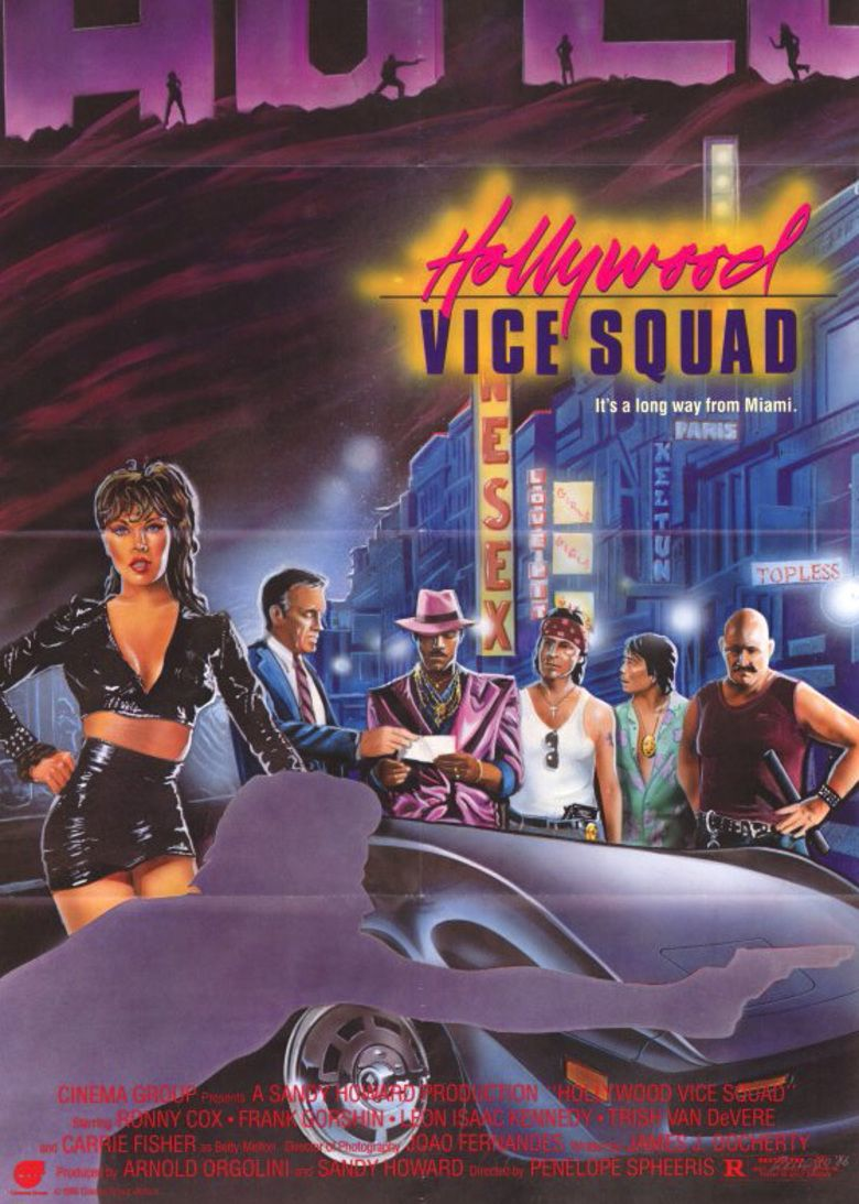 Hollywood Vice Squad movie poster
