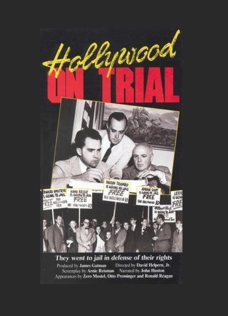 Hollywood on Trial movie poster