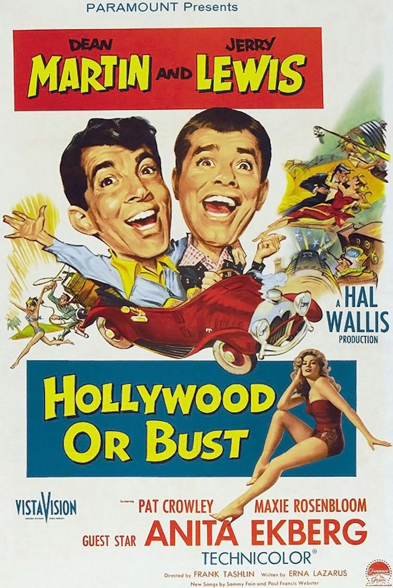 Hollywood or Bust movie poster