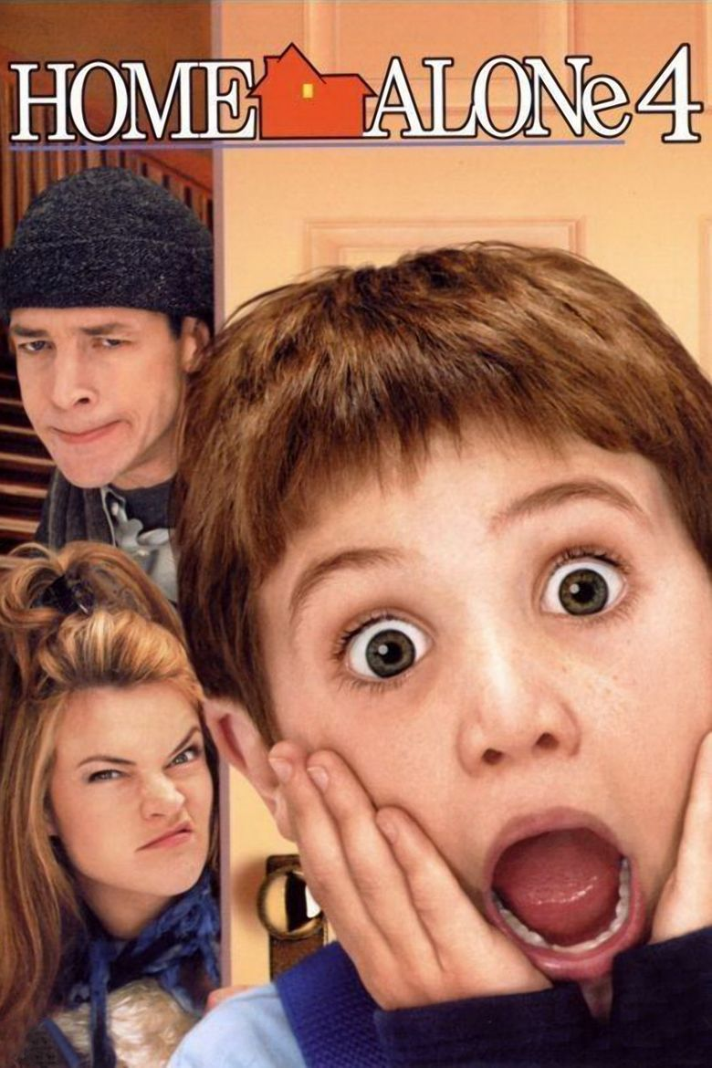 Home Alone 4 movie poster