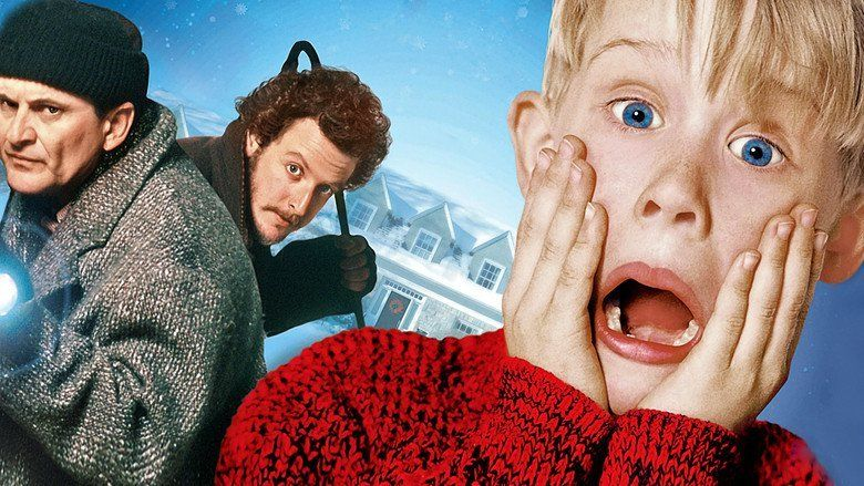 Home Alone movie scenes